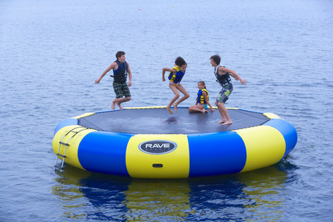 Rave Floating Trampoline Water Bouncers Bongo 20