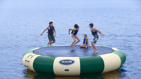 Rave Sports Water Bouncers Bongo 20 Northwoods