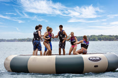 Rave Floating Trampoline Water Bouncers Bongo 20 Northwoods
