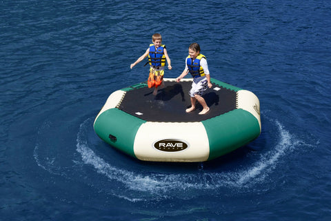 Rave Floating Trampoline Water Bouncers Bongo 10 Northwoods