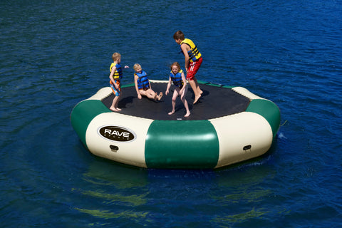 Rave Floating Trampoline Water Bouncers Bongo 15 Northwoods