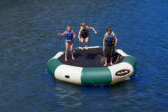 Rave Floating Trampoline Water Bouncers Bongo 13 Northwoods