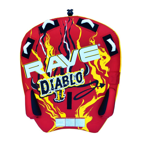 Rave Sports Diablo II Deck Tube Towable