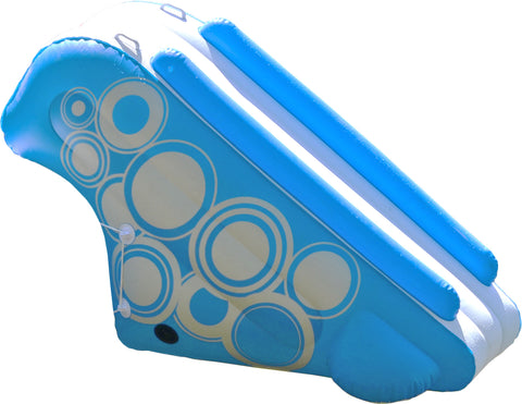 O-Zone Slide connects to both the O-Zone and the O-Zone XL water bouncers