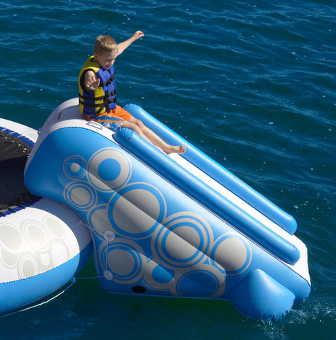 Rave Sports Water Trampoline Bouncer O-Zone Slide