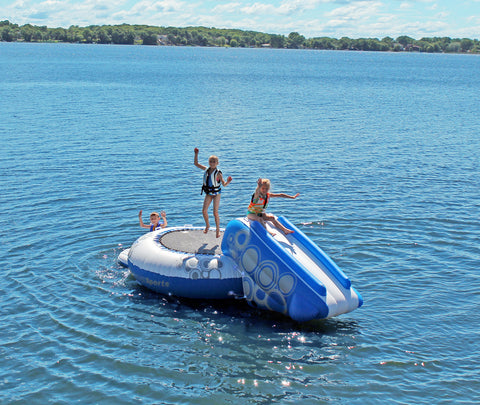 Rave Sports Water Trampoline Bouncer O-Zone Plus
