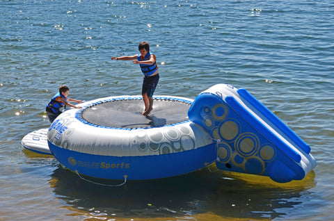 Rave Sports Water Trampoline Bouncer O-Zone XL Plus