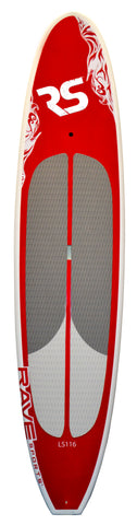"Lake Cruiser LS116 SUP 11'6"" Red"