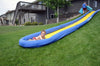 Image of The Turbo Chute Water Slide Backyard Package by Rave Sports catch pool
