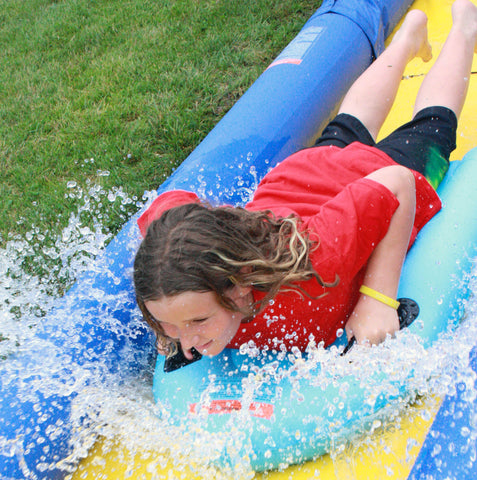 Rave Sports Turbo Chute Water Slide Backyard Package