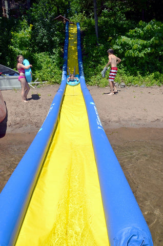 Rave Sport water slide lake package