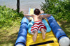 Image of Turbo Chute Water Slide Lake Package by Rave Sports person sliding