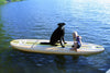 Image of 10ft 8in. Bamboo Soft Top Stand Up Paddle Board by Rave Sports  water sports