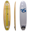 Image of 10ft 8in. Bamboo Soft Top Stand Up Paddle Board by Rave Sports