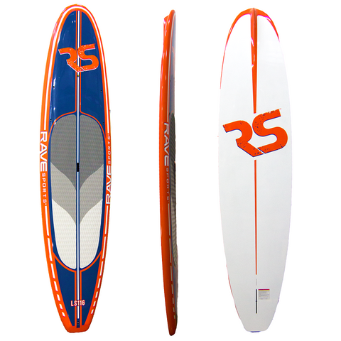 "Lake Cruiser LS116 SUP 11'6"" Orange"