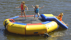 Island Hopper 10 foot Bounce N Splash Water Park