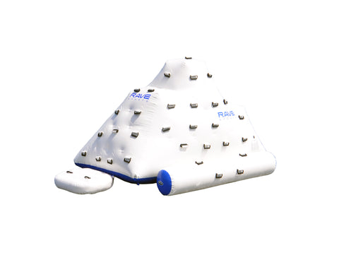 Rave Sport 7ft Iceberg Inflatable Climbing Wall and Water Slide