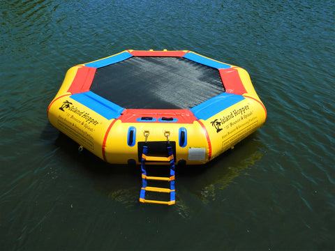 Island Hopper 10 ft Bounce and Splash Water Bouncer