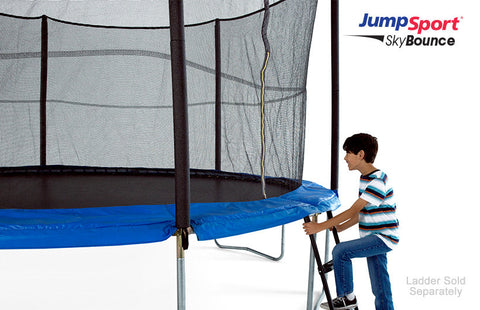 JumpSport 10ft SkyBounce Trampoline With Enclosure System