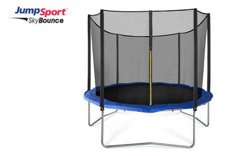 JumpSport 14ft SkyBounce Trampoline With Enclosure System