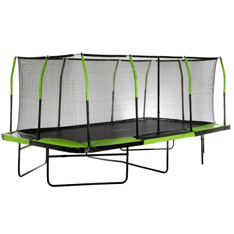 Upper Bounce Mega Trampoline 10 X 17 With Free Enclosure