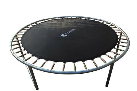 ExacME 12ft trampoline with safety pad & enclosure net included
