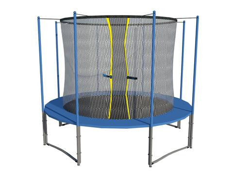 ExacME 14ft trampoline with safety pad & enclosure net included