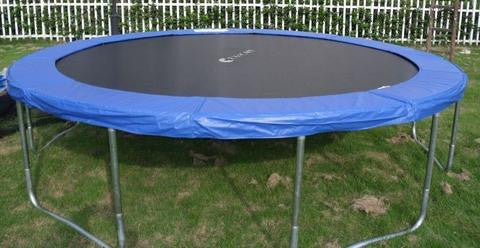 ExacME 15ft trampoline with safety pad & enclosure net included