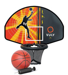 Vuly Thunder Pro XL 14ft Trampoline + Free Basketball Hoop Bundle Package