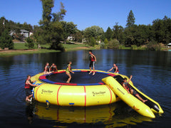 Island Hopper 25 Foot Giant Jump Water Trampoline
