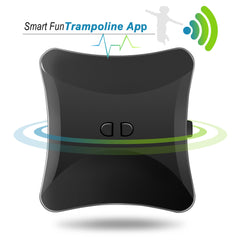 ExacMe 2019 Outer Smart Trampoline, Safety Enclosure and Jumping Detector | Bluetooth Energy Calculator APP (T8-T16)