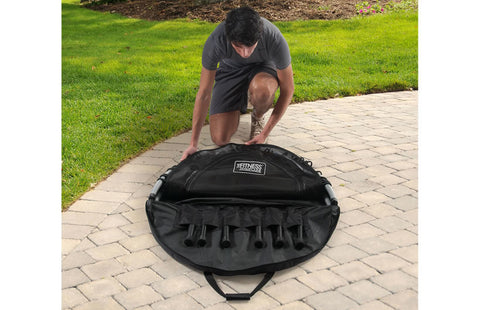 JumpSport Carry/Storage bag Fits the 350f folded Rebounder Black