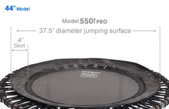 Model 550F Folding PRO Fitness Trampoline 44