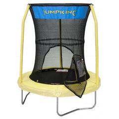 JumpKing 55 Inch Trampoline with 3 Pole Enclosure System