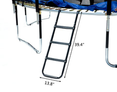 Exacme Trampoline Ladder Replacement with 3 Wide Steps Platform 6180-LD05