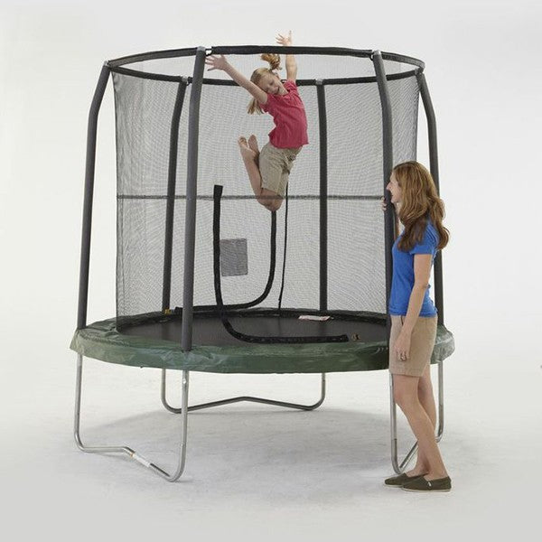 JumpKing's Bazoongi 7.5ft  Jump Pod Trampoline and Enclosure