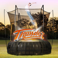 Thunder Pro Trampoline Medium 10ft with Leaf Spring Technology and Enclosure