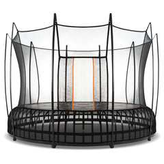 Vuly Thunder 14 Foot Trampoline Innovative tool-free assembly with leaf spring technology and enclosure