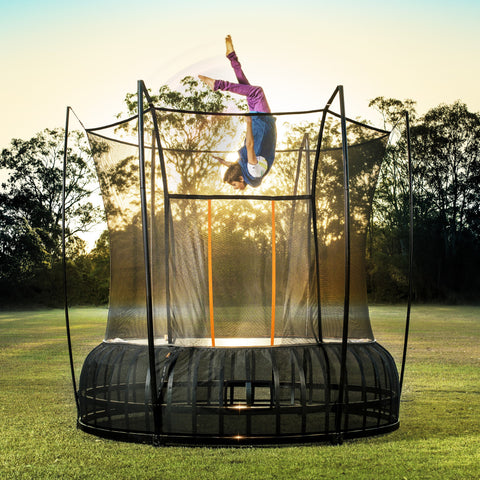 bounciest trampoline spring less spring free