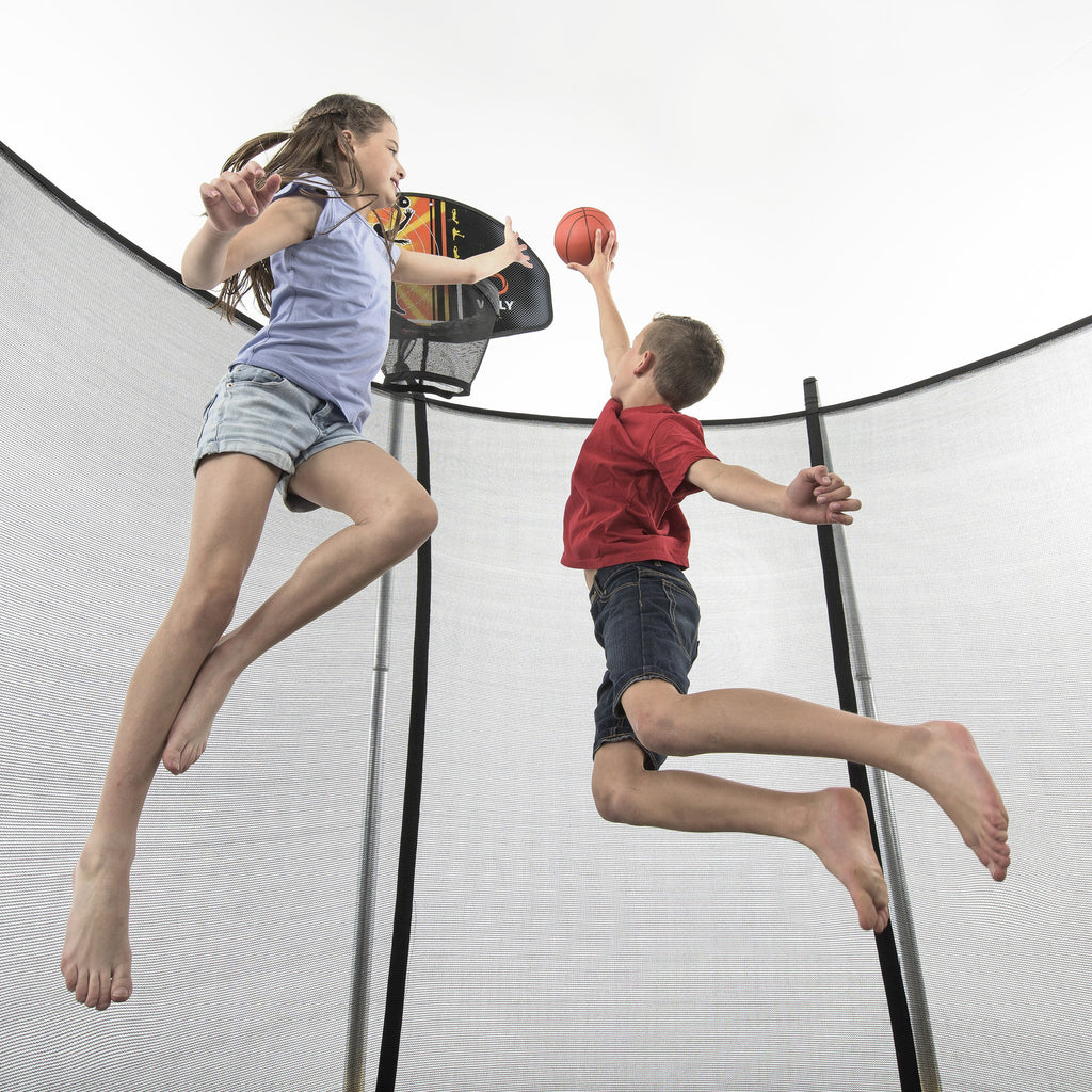Basketball Hoop for trampolines – I Want to Jump.Com