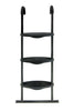 Image of Universal SkyBound Adjustable ladder with 3 steps black