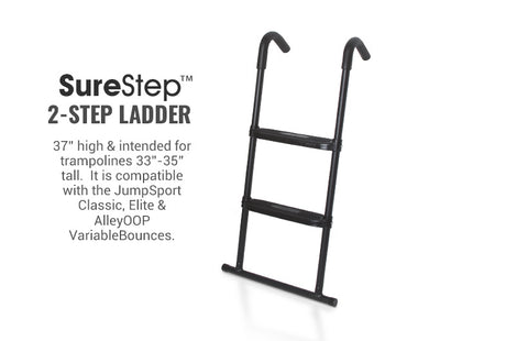 JumpSport Trampoline Ladder, SureStep (2 step)