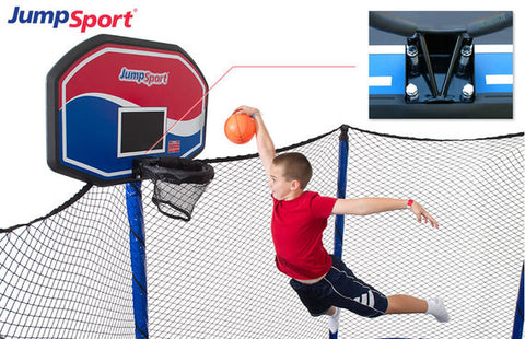 JumpSport Basketball hoop