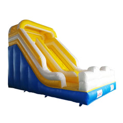 Bounce House with Blower - Blue, Yellow and White by Aleko