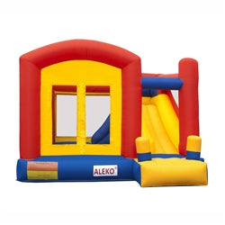 Commercial Grade Inflatable Playground Bounce House with Slide and Blower by Aleko