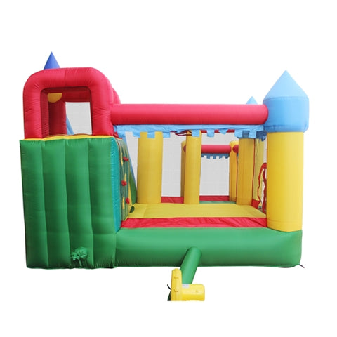 Aleko Commercial Grade Inflatable Fun Slide Bounce House with Ball Pit