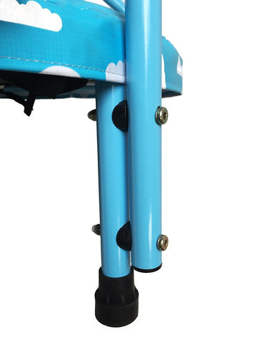 SkyBound Mini-4 40 inch Blue Children's Trampoline  legs