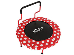 40 inch Red with White Polks Dots pad SkyBound Trampoline