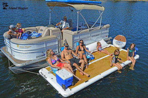 Island Hopper 15 Foot Patio Dock