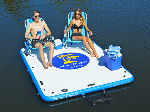 Island Hopper Buddy Inflatable Water Platform & Dock